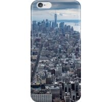 Manhatten Island NYC USA iPhone Case/Skin