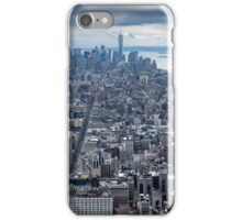 Manhatten Island NYC USA iPhone Case/Skin