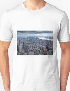 Manhatten Island NYC USA Unisex T-Shirt