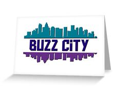 Buzz City Greeting Card
