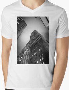 New York City skyscrapers Mens V-Neck T-Shirt