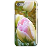 Pink & White Tulips iPhone Case/Skin