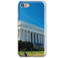 Lincoln Memorial Washington DC iPhone Case/Skin