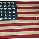 American Flag by Darren Freak