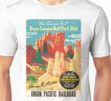 Bruce Canyon Utah Vintage Travel Poster Unisex T-Shirt