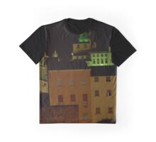 Night Skyline Graphic T-Shirt