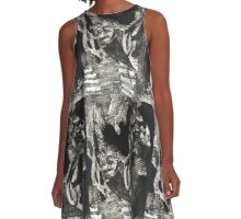 Babylon towers A-Line Dress