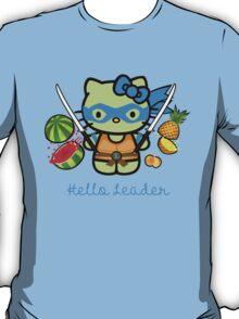 Hello Ninja Turtle Leader T-Shirt