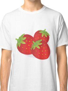 Food Fruit Plant Strawberries  Classic T-Shirt