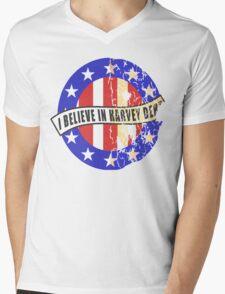 I Believe In Harvey Dent Mens V-Neck T-Shirt
