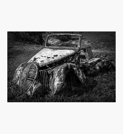 The Ravages of Time 2 Photographic Print