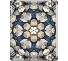Abstract 3D Cubes Mandala iPad Case/Skin