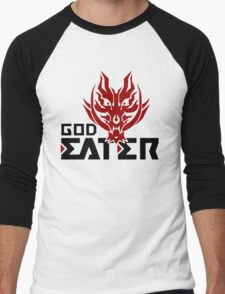 Logo of God Eater Anime Men's Baseball ¾ T-Shirt