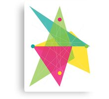 Abstract Diamond Canvas Print