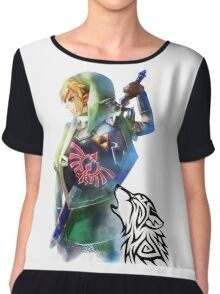 Zelda Link with Wolf Chiffon Top