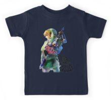 Zelda Link with Wolf Kids Tee