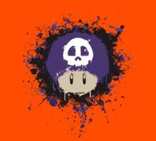 Abstract Super Mario Poison (purple) Mushroom Kids Clothes