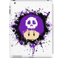 Abstract Super Mario Poison (purple) Mushroom iPad Case/Skin