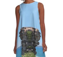 South from King Edward Park A-Line Dress