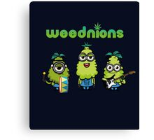 The Weednions Canvas Print