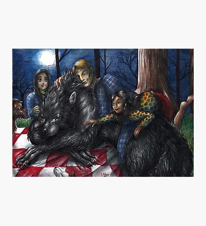 Hannibal - Picnic with the werewolf Photographic Print
