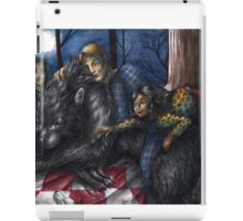 Hannibal - Picnic with the werewolf iPad Case/Skin