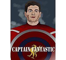 Captain Fantastic Steven Gerrard Photographic Print