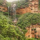 National Pass view of Wentworth Falls by Michael Matthews