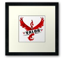 -GEEK- Team Valor Framed Print