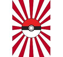 Poké Flag Photographic Print
