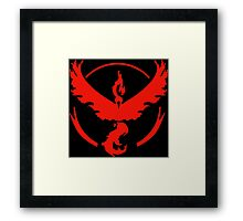-GEEK- Team Valor Logo Framed Print