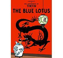 Tintin - The Blue Lotus Photographic Print