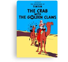 Tintin - The Crab With the Golden Claws Canvas Print