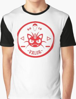 -GEEK- Team Valor Meowth Graphic T-Shirt