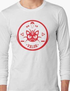 -GEEK- Team Valor Meowth Long Sleeve T-Shirt