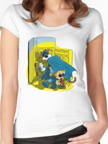 Calvin And Hobbes : Freezer Sneakers Women's Fitted Scoop T-Shirt