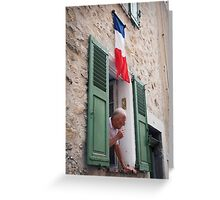 Life in France Greeting Card