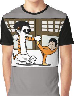 Calvin And Hobbes : Kungfu Master Graphic T-Shirt
