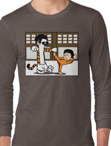 Calvin And Hobbes : Kungfu Master Long Sleeve T-Shirt