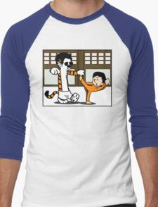 Calvin And Hobbes : Kungfu Master Men's Baseball ¾ T-Shirt