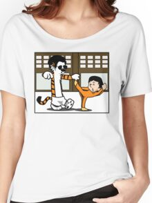 Calvin And Hobbes : Kungfu Master Women's Relaxed Fit T-Shirt