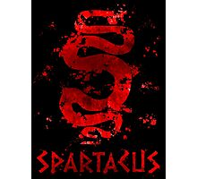 Spartacus - Red Serpent V2 Photographic Print