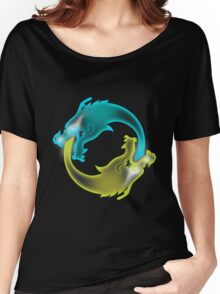 Two Dragons, two Brothers Women's Relaxed Fit T-Shirt
