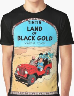 Tintin - The Land of Black Gold Graphic T-Shirt