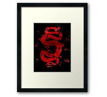 Spartacus - Red Serpent Framed Print