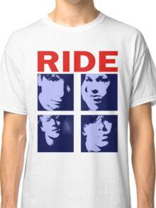 RIDE - RIDE UK BAND SHOEGAZER- Classic T-Shirt
