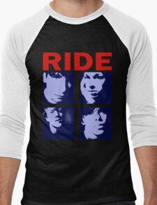 RIDE - RIDE UK BAND SHOEGAZER- Men's Baseball ¾ T-Shirt