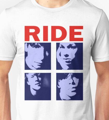 RIDE - RIDE UK BAND SHOEGAZER- Unisex T-Shirt