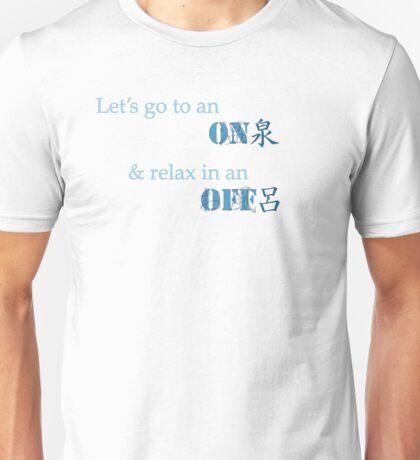 Onsen - Ofuro Unisex T-Shirt