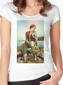 The Shell Collector. Women's Fitted Scoop T-Shirt